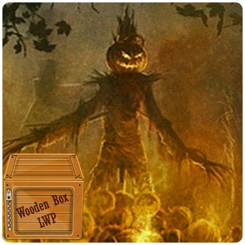 Halloween Camp Fire Live Wallpaper