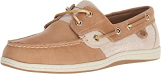 Sperry Women's Koifish Sparkle Crosshatch Boat Shoe US