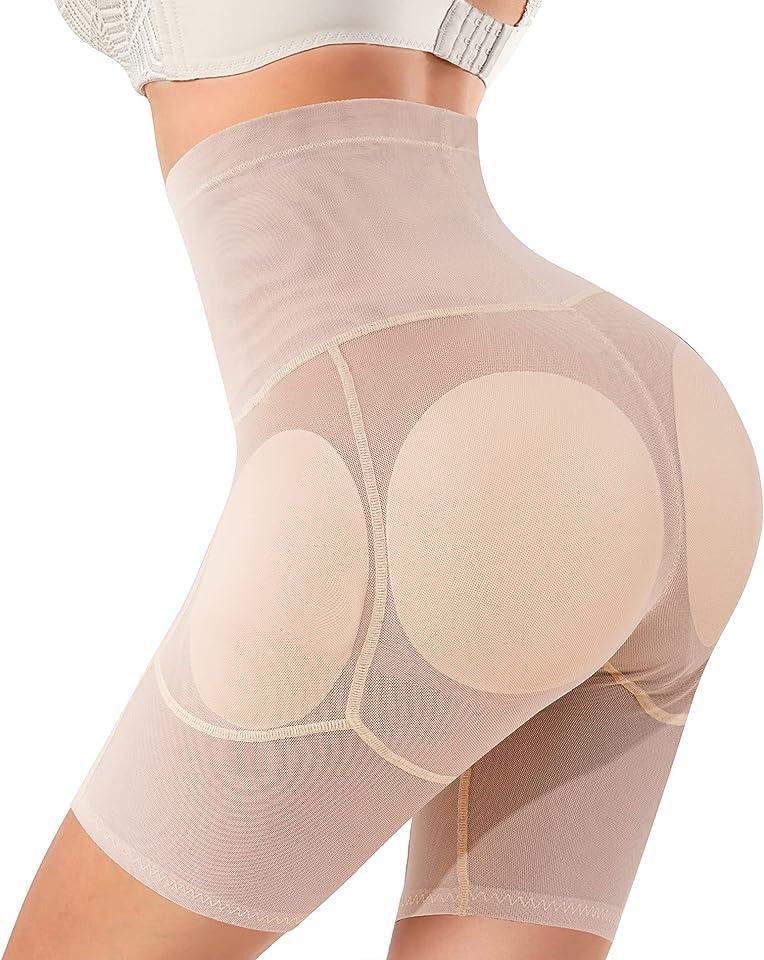 Women Butt Lifter Shapewear Hi-Waist Panty Tummy Control Knickers Padded Hip Enhancer Seamless Underwear Body Shaper