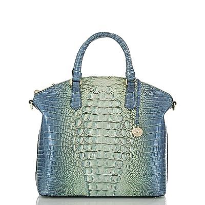 Brahmin Ombre Melbourne Large Duxbury Satchel (Haven) Handbags