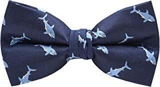 Carahere Mens Bow Ties Handmade Pre-Tied Pattern Bow Ties For Men