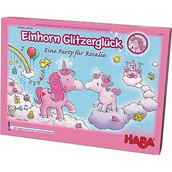 HABA Einhorn Glitzerglück Freunde Quartett Kartenspiel Karten Spiel Spielzeug