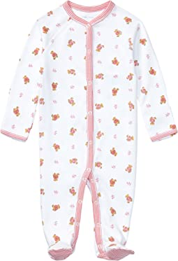 Ralph Lauren Baby Printed Interlock Bear One-Piece Coveralls (Infant)