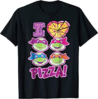 Teenage Mutant Ninja Turtles I Love Pizza T-Shirt