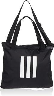 Adidas Unisex 3S Tote Bag, Black/Black/White (Multi-Colour), One Size