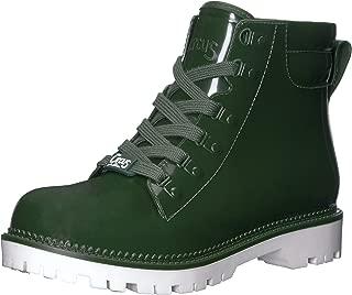 hunter lace up rain boots womens