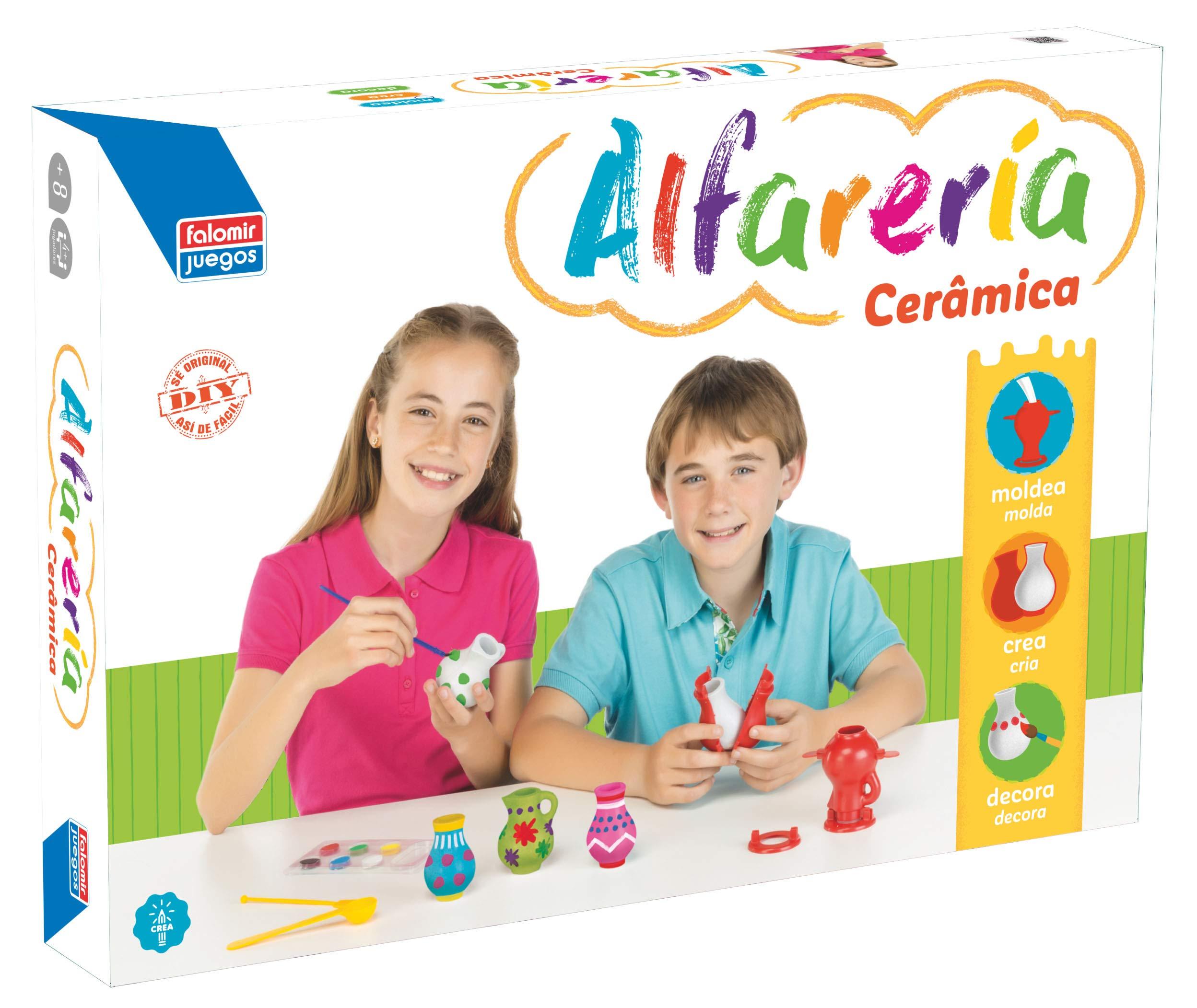Falomir Alfarería, Juego de Mesa, Manualidades (26539): Amazon.es: Juguetes y juegos