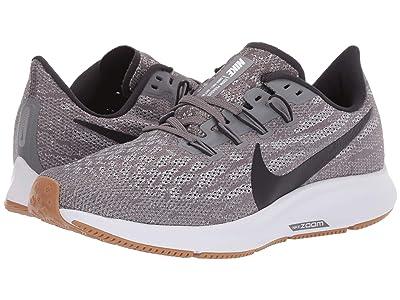 Nike Air Zoom Pegasus 36 (Gunsmoke/Oil Grey/White/Gum Light Brown) Women