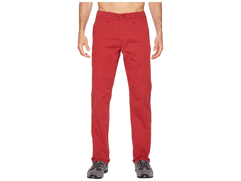 Toad&Co Mission Ridge Pant (Brick Red) Men