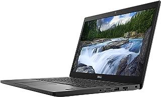 Dell Latitude 7490 Business Laptop - Intel Quad Core i5-8250U, 8GB, 256GB SSD, 14 Inch FHD (1920x1080), Display port over Type C, Fingerprint, Windows 10 Professional, Black
