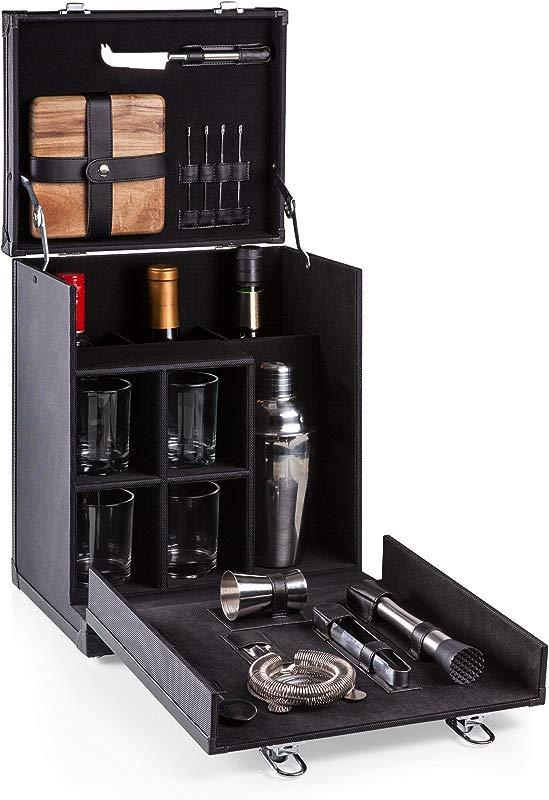 LEGACY A Picnic Time Brand Hamilton Travel Cocktail Set