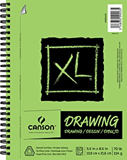 """CANSON XL Series Drawing, 5.5"""" x 8.5"""""""