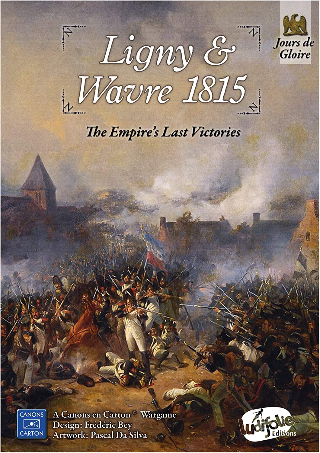 Ludiofolie Editions France LUD Ligny 1815 爆買い新作 ※アウトレット品 Wavre Empire' The