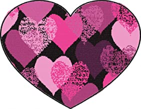 Suck My Mug - Pink Hearts Heart Shaped Mouse Pad 9.25