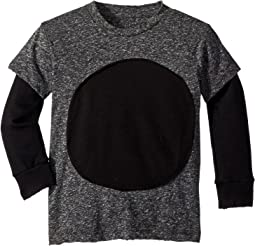 Circle Patch T-Shirt (Toddler/Little Kids)