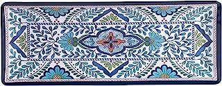 "Certified International Talavera Melamine 19"" x 8"" Rectangular Platter, متعدد الألوان"