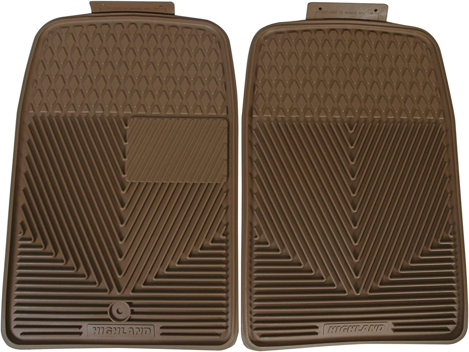 Directly managed store Highland 4402700 All-Weather Max 77% OFF Tan Mat Floor Seat Front