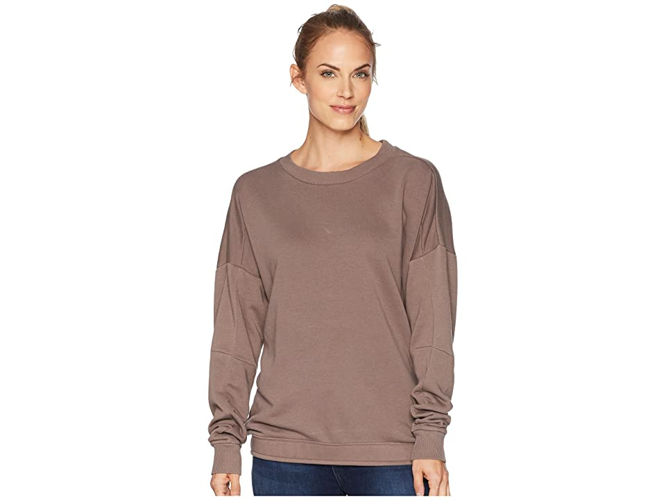 Reebok Training Essentials Crew Neck Sweatshirt (Smoky Taupe) Women