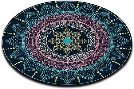 Amazon.fr : tapis rond 120 cm - Tapis / Décoration de chambre d ...