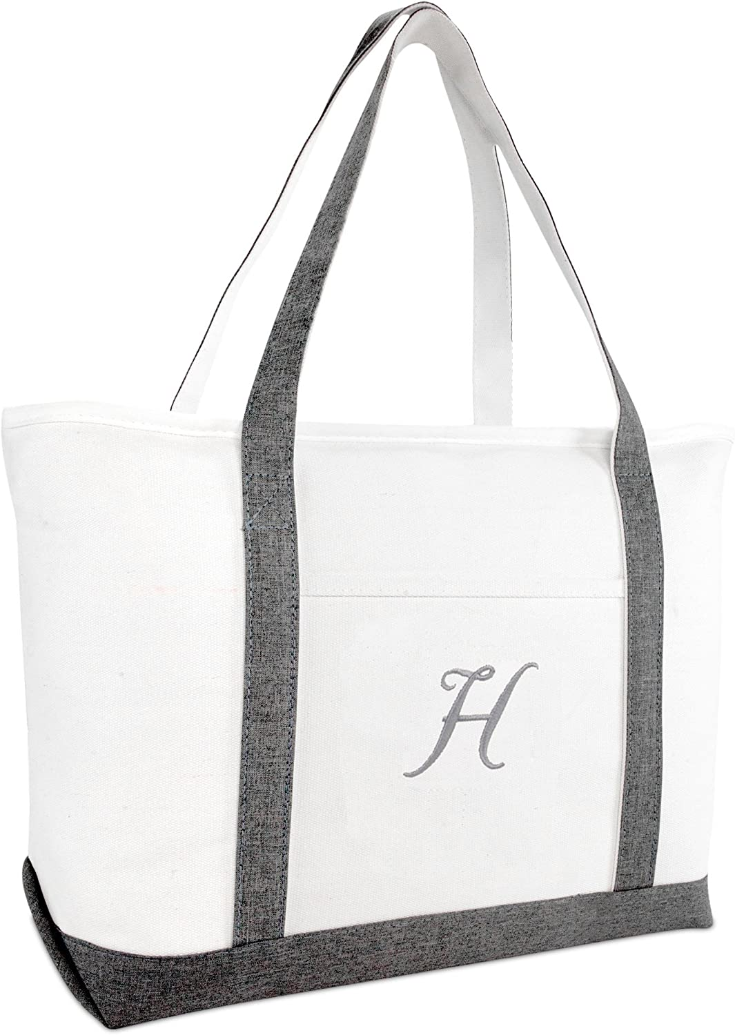 DALIX Gray Beach Tote Bag Gifts Shoulder Bags Women Personalized All stores Max 49% OFF are sold