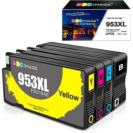 GPC Image 953XL Remanufactured Cartucce d'inchiostro per HP 953 XL per HP Officejet Pro 8710 8715 8718 8719 8720 8725 8730 8740 7740 8218 (Nero/Ciano/Magenta/Giallo, 4 Pack)