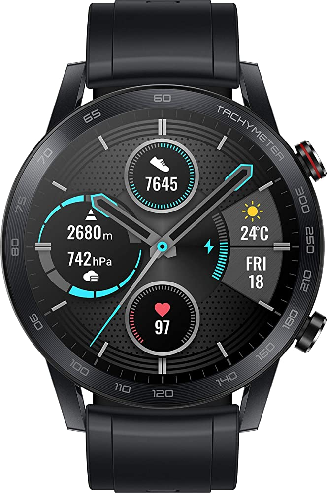 Honor smartwatch con cardiofrequenzimetro gps, fitness tracker orologio MNS-B19