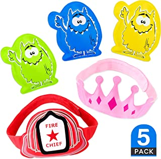 5 x Children's Ice Packs for instant pain relief - Boo Boo Buddy for Kids, Toddlers & Babies. Cold Compress for Bumps, Bruises, Knocks and Ouchies! The Best Reusable Child Ice Pack for Injuries, (by