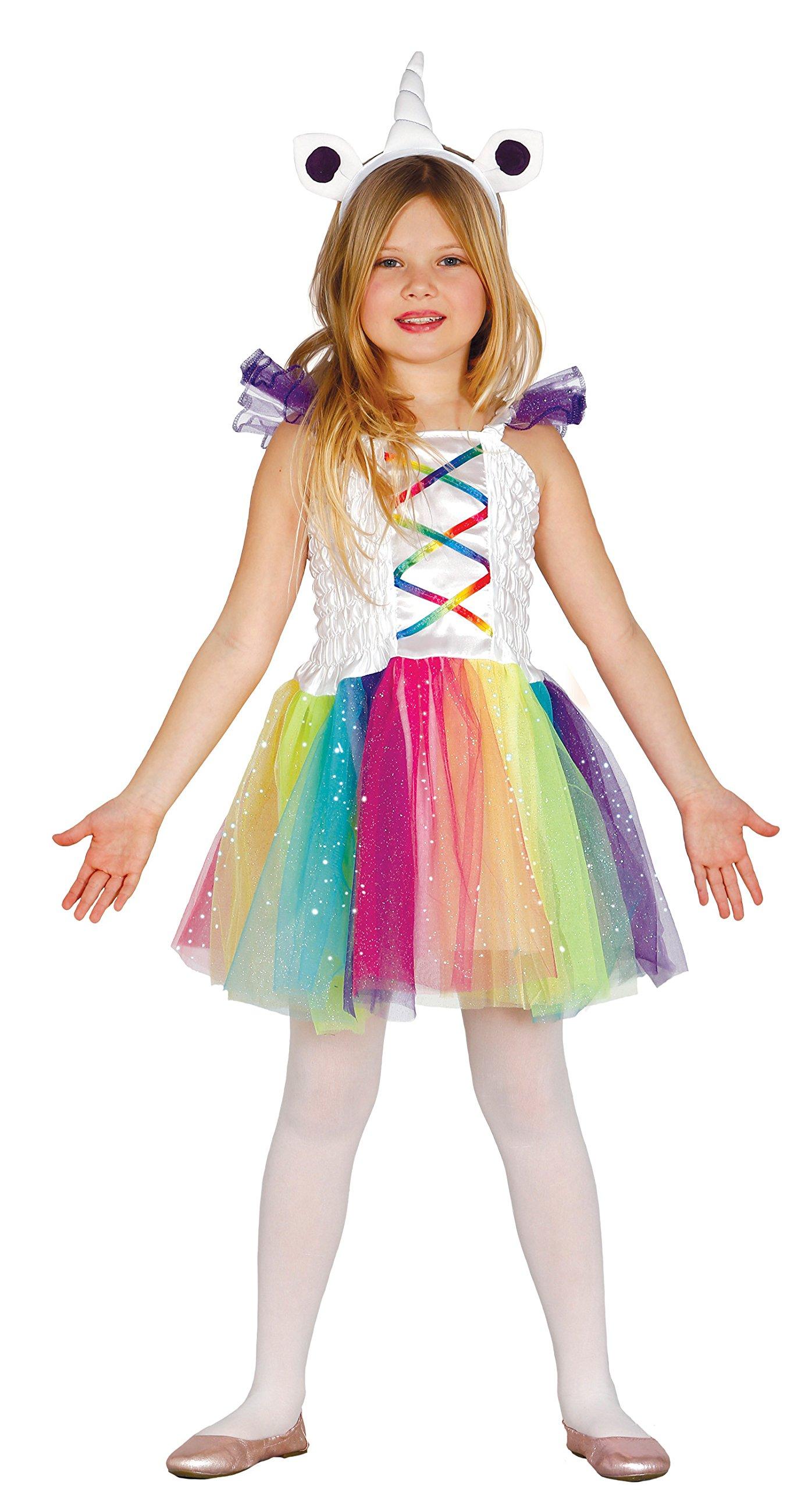 Guirca- Disfraz unicornio tutú, Talla 7-9 años (85960.0) , color ...