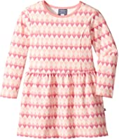 Toobydoo - Geo Pink Skater Dress (Toddler/Little Kids/Big Kids)