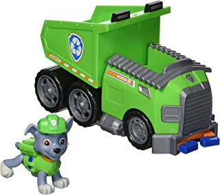 Paw Patrol – Rocky's Recycle Dump Truck Vehicle with Rocky Figure
