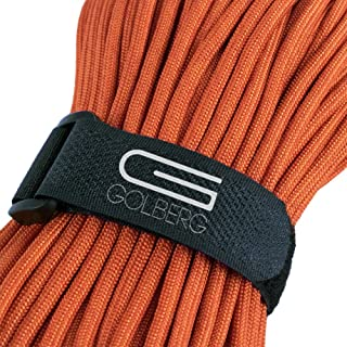 GOLBERG G MIL-SPEC-C-5040-H Authentic Mil-Spec 550 Paracord - 550 lb Type III 7 Strand 5/32 Parachute Rope - 100% Nylon Made in USA Golberg Military Survival Rope Cord