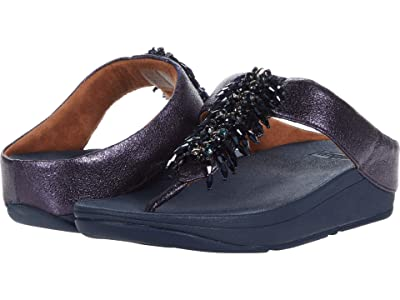 FitFlop Velma Adorn Toe-Thong (Midnight Navy) Women