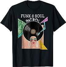 FUNK & SOUL PATROL 70s 80s Vintage Afro Graphic Music Shirt