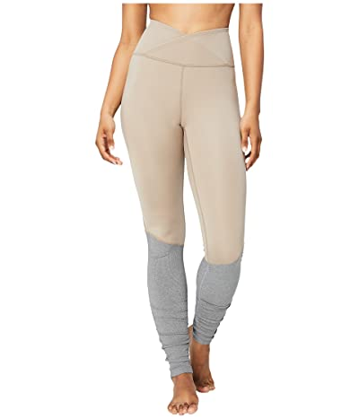 Core 10 Icon Series The Ballerina Yoga Leggings (Taupe/Light Grey) Women