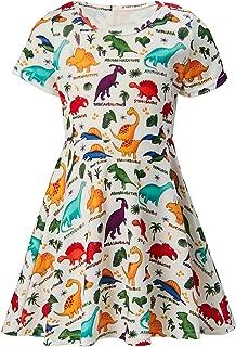 dinosaur swing dress