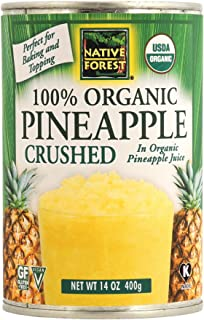 Native Forest Organic Pineapple Crushed, 14 Ounce Cans (Pack of 6)