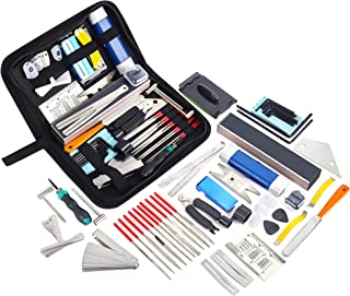 Meideal 65 Pieces Guitar Repairing Maintenance Tool Kit,...