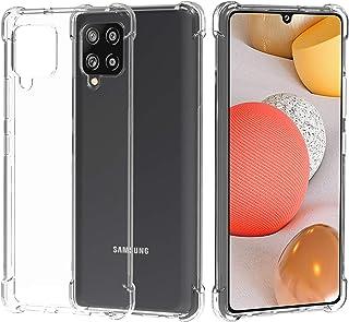 Migeec Funda para Samsung Galaxy A42 5G Suave TPU Gel Carcasa Anti-Choques Anti-Arañazos Protección a Bordes y Cámara Prem...