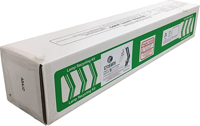 EZ On The Earth Straight Lamp 4 Foot Standard Recycle Kit Ship Up To 27 T12 Or 64 T8 Lamps