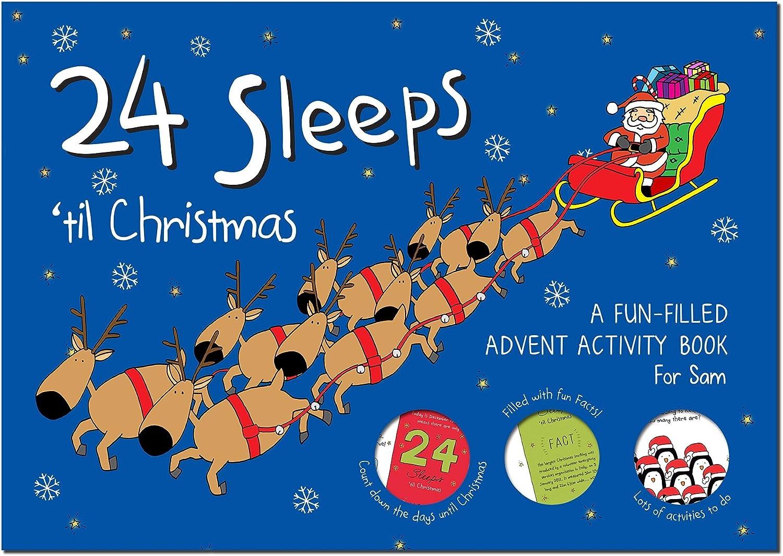 24 Sleeps til til til Christmas Book by SIG B01N5DSIVO | Helle Farben  9f430a
