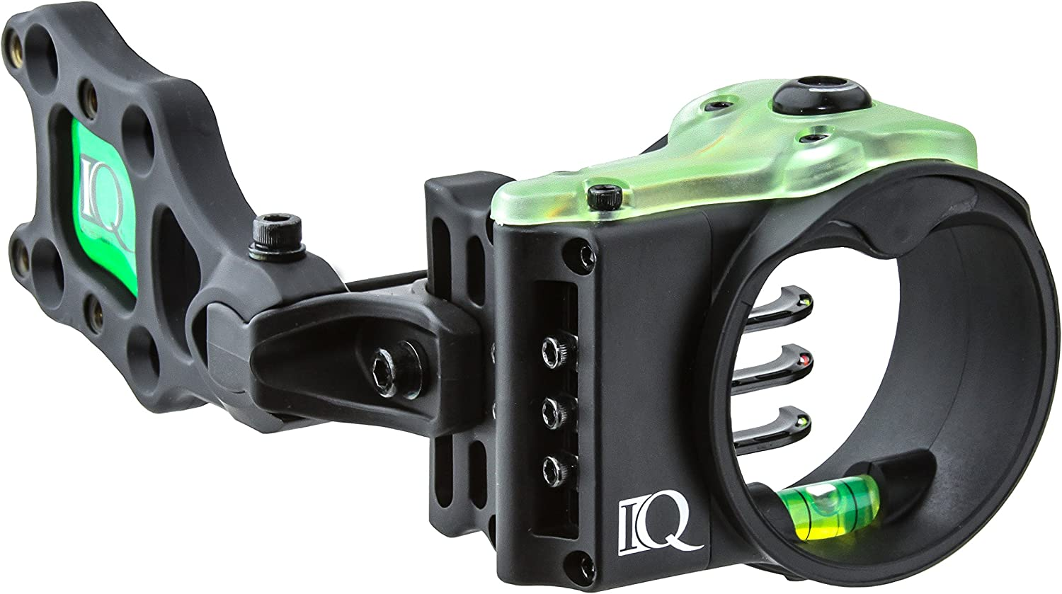 IQ Bowsights Ultra Lite 3 or 5 Pin Compound Bow Archery Sight with Retina Lock Technology  Left and Right Hand