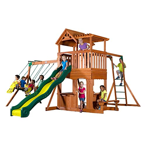 Outdoor Wood Playsets Amazon Com