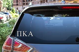 Pi Kappa Alpha Sticker Greek Sorority Decal for Car, Laptop, Windows, Officially Licensed Product, Monogram Design 2.5