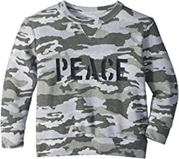 Chaser Kids Fleece Knit Peace Pullover (Toddler/Little Kids)