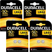 Duracell LR44 Batterie Specialistiche, Bottone Alcaline da 1.5 V, 8 Batterie, 76A/A76/V13GA, Progettate per Essere Usate in Giocattoli, Calcolatrici e Strumenti di Misurazione