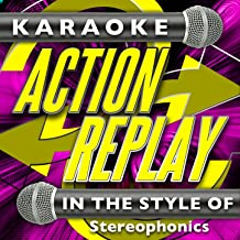 Pick a Part That's New (In the Style of Stereophonics) [Karaoke Version]