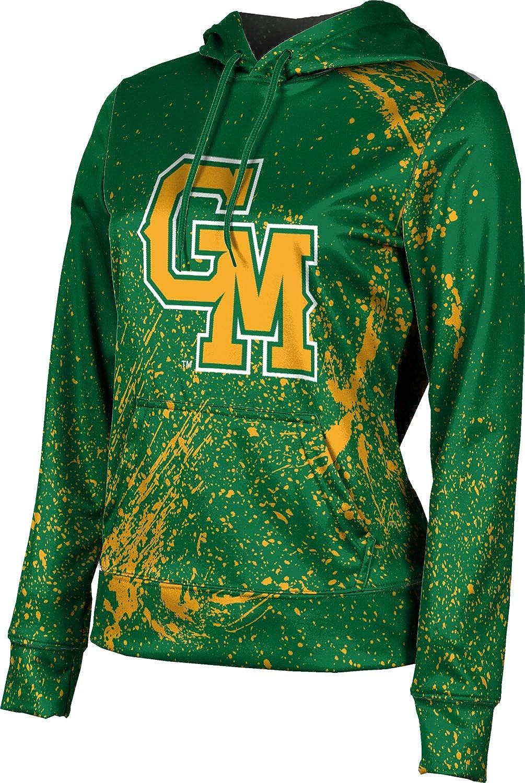 ProSphere George Mason University Girls' Pullover Hoodie, School Spirit Sweatshirt (Splatter)