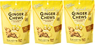 Sponsored Ad - Prince of Peace Ginger Chews Candy Original Flavor — Sweet and Spicy Chewy Organic Vegan Candies for Mornin...