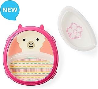Skip Hop - Juego de plato y tazón para bebé, Llama