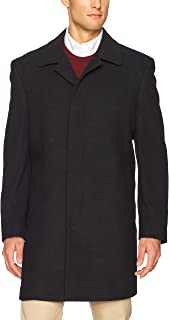 Hart Schaffner Marx Men's Topper Dress Wool Top Coat